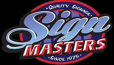 Signmasters, Quality signage since 1975 logo