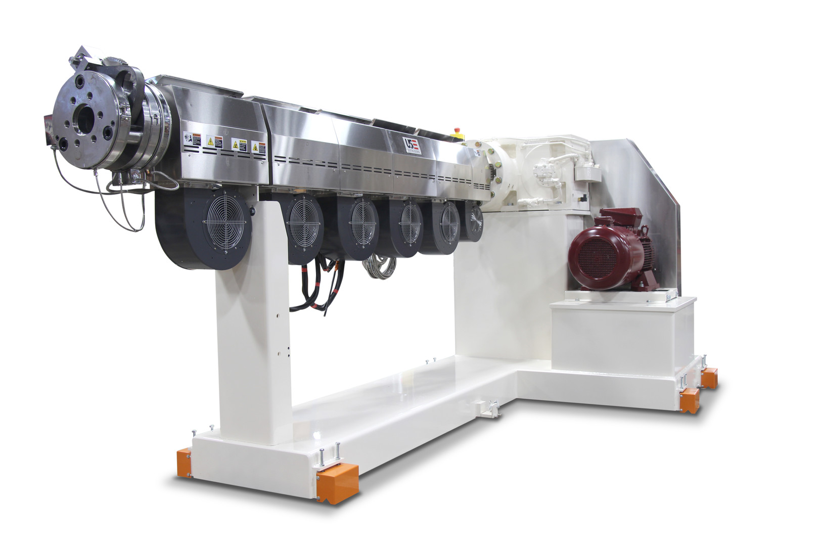 3.5 inch 30:1 single screw extruder