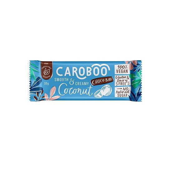 Caroboo Coconut (35g bar) 100% Vegan  -  Gluten & Dairy Free