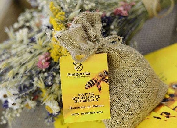 "Native Wildflower ""Beebombs"""