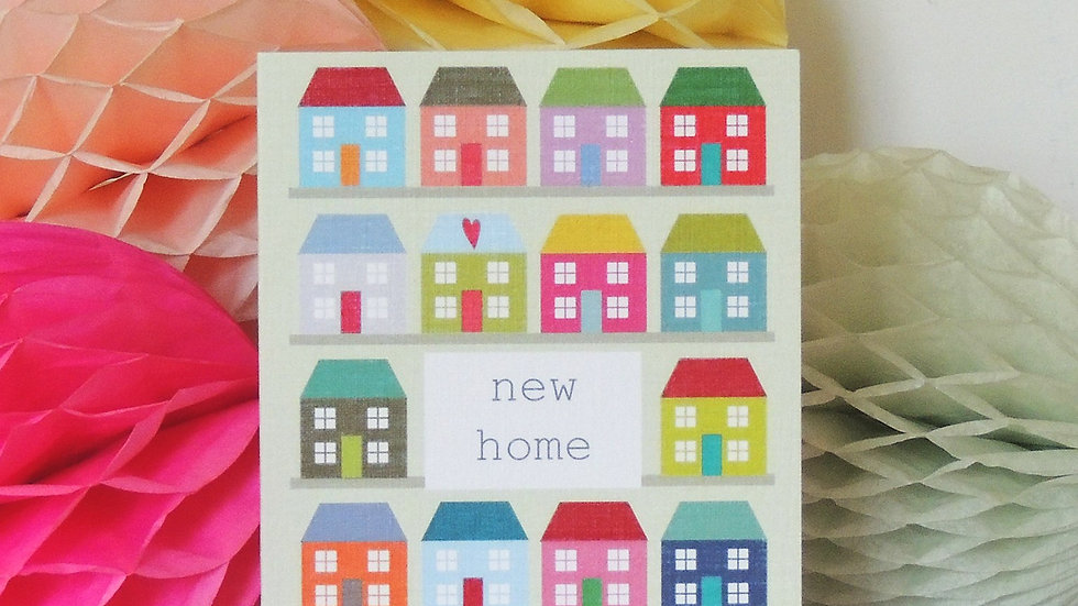 New Home Card (Tiddly Widdly 12 x 9cm)