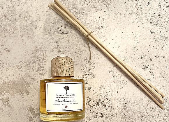 Essential Oil Reed Diffuser (Cinnamon, Sweet Orange & Vanilla) 100ml