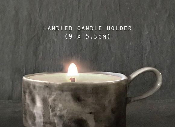 Ceramic Candle Holder with Scented Candle