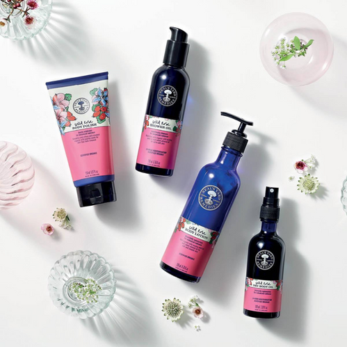 Wild Rose Skin & Body Collections