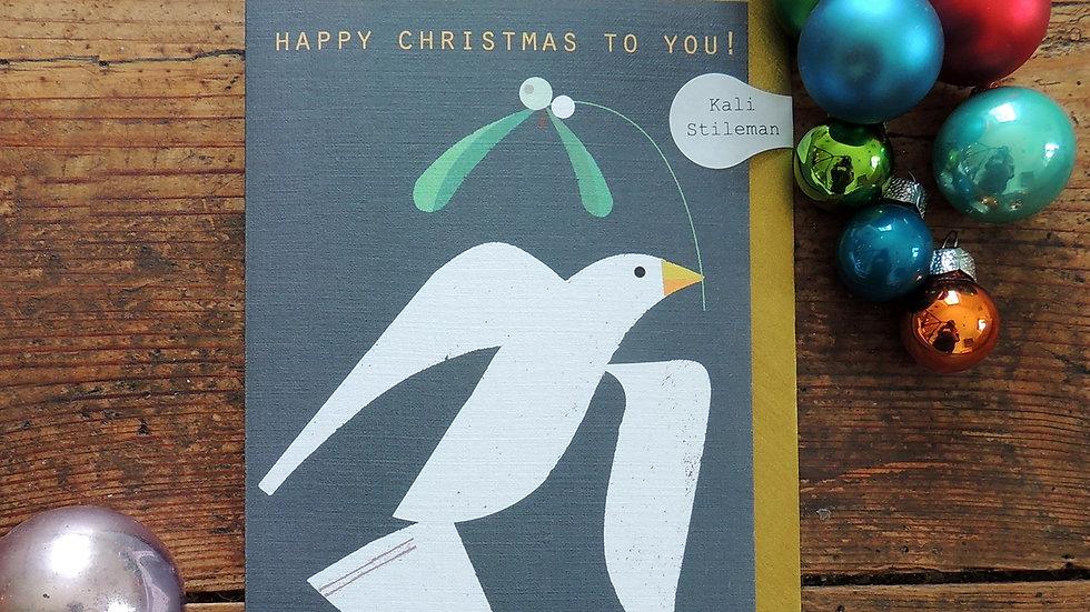 Dove Christmas Card (Standard 15 x 10.5 cm)