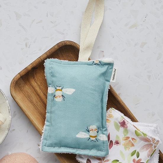 """Bath """"None Sponge"""" - Organic Cotton & Bamboo (Reusable)"""