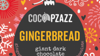 Dark Chocolate Giant Buttons with Classic Gingerbread Spices (96g)