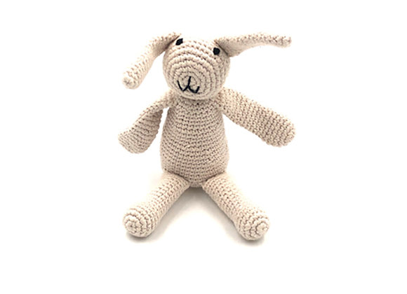 """Organic Cotton """"My First Bunny"""" – Natural"""