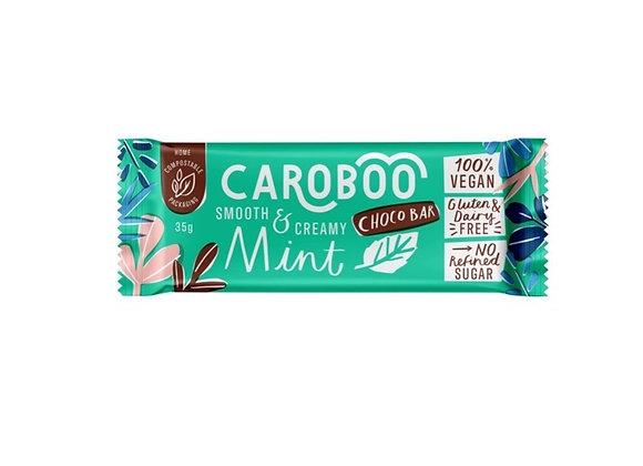 Caroboo Mint (35g bar) -- 100% Vegan  --  Gluten & Dairy Free