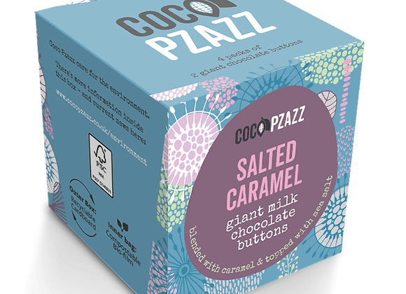 Salted Caramel Giant Milk Chocolate Buttons (96g)