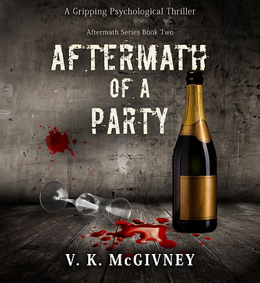 Aftermath of a Party Kindle Audio cover.