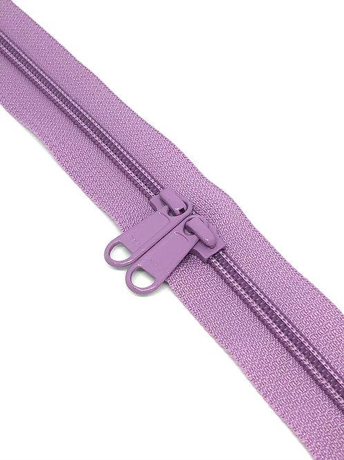 YKK Zipper Tape - Lavender 244