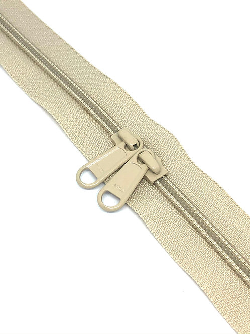 YKK Zipper Tape - Nougat 572