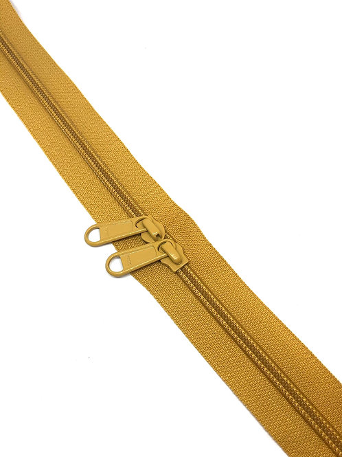 YKK Zipper Tape - Ochre 087