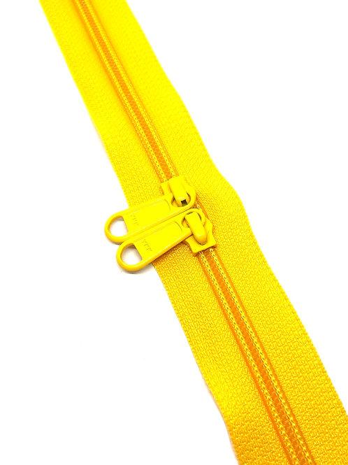 YKK Zipper Tape - Mustard 001