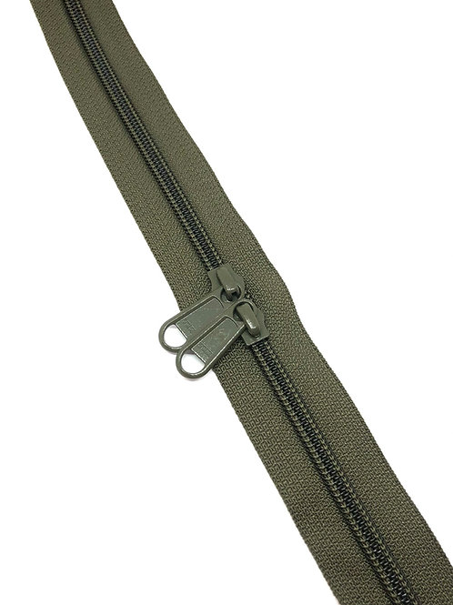 YKK Zipper Tape - Military Green 305