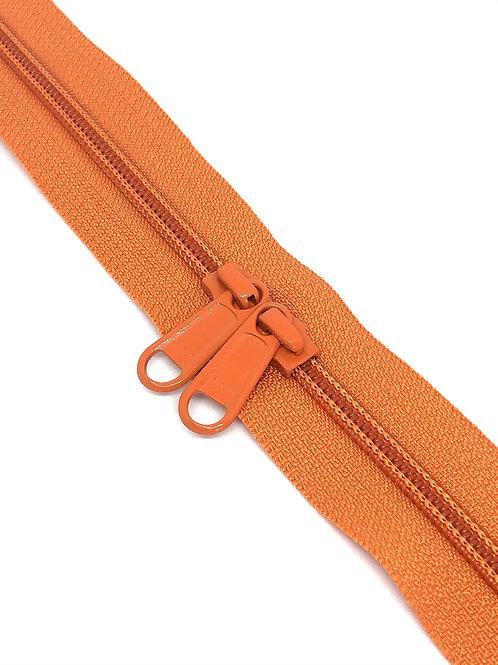 YKK Zipper Tape - Clementine 807