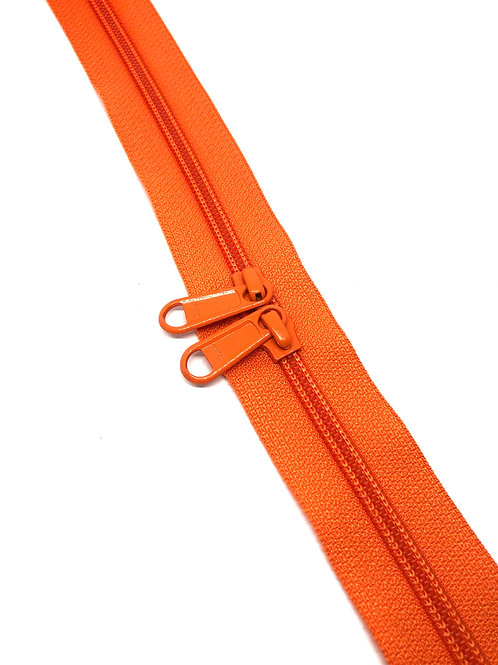 YKK Zipper Tape - Orange 523