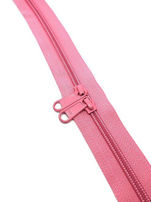 YKK Zipper Tape - Bubblegum Pink 514