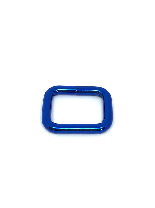 "Blue Rectangle Ring 26mm (1 1/16"") x 19mm (3/4"")"")"