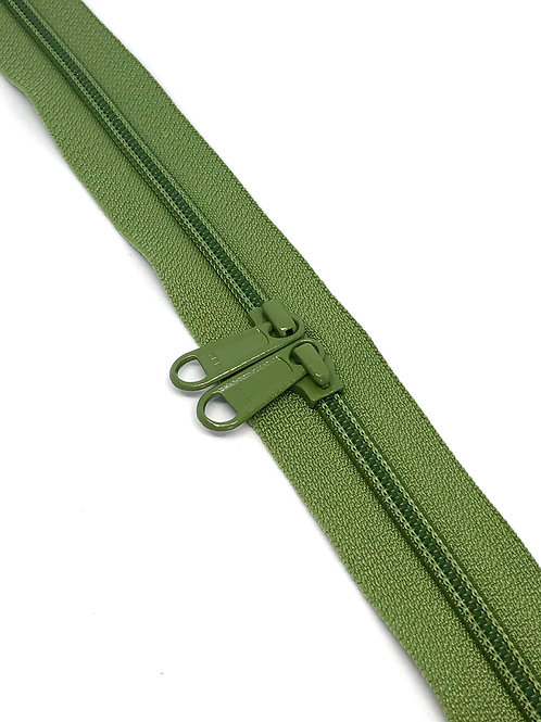 YKK Zipper Tape - Bramley Apple 064