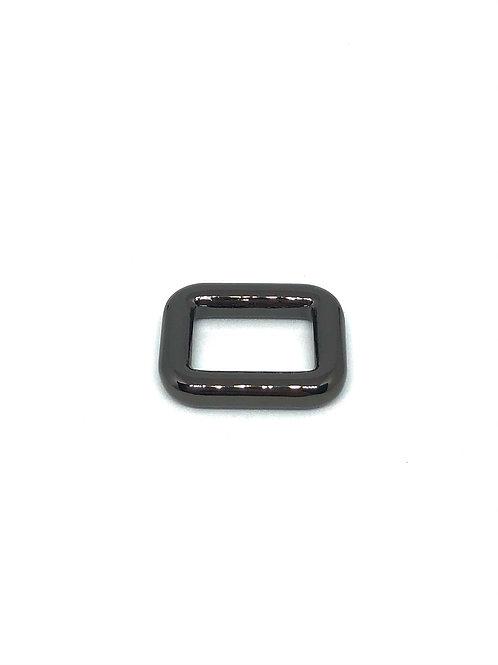 "Gunmetal Rectangle Ring 15mm (5/8"") x 11mm (3/8"")"