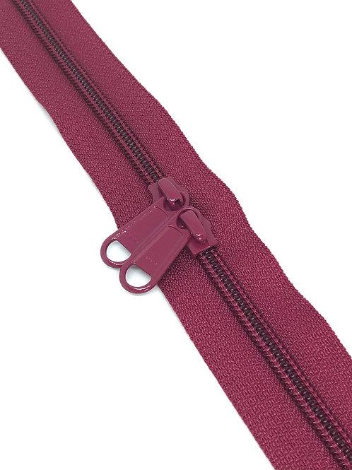 YKK Zipper Tape - Cranberry 288