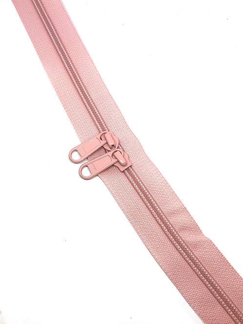 YKK Zipper Tape - Light Pink 811