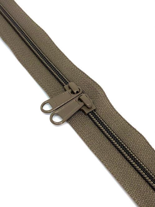 YKK Zipper Tape - Truffle 318