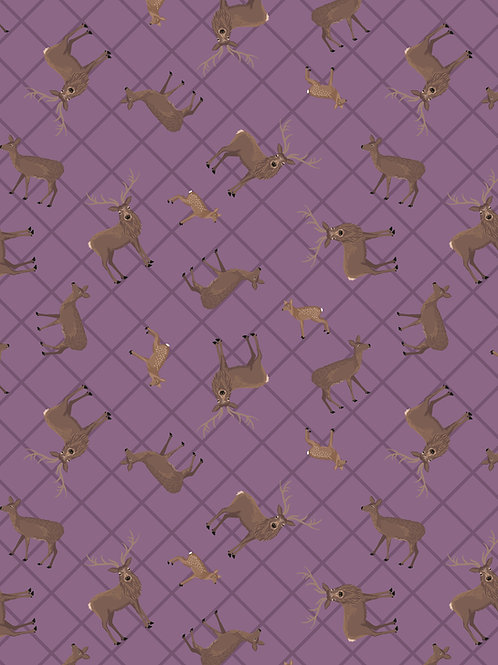 Purple Deer Check (A540.2)
