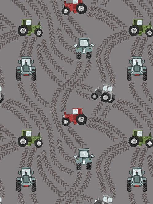 Tractor Trails on Muddy Grey (A533.3)