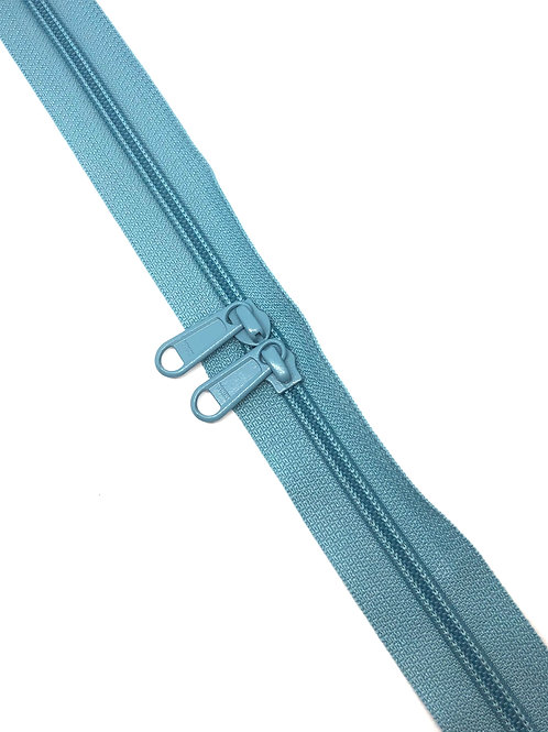 YKK Zipper Tape - Light Blue 012