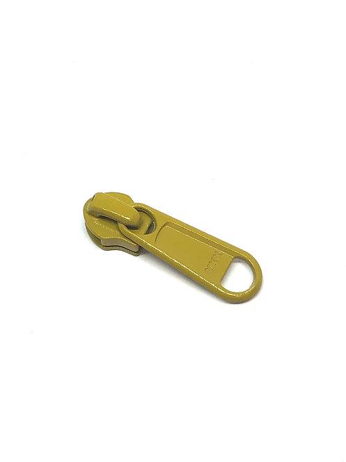 YKK Zipper Pull - Light Olive Green 509