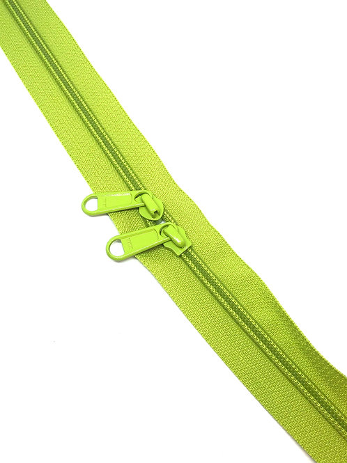 YKK Zipper Tape - Lime Green 875