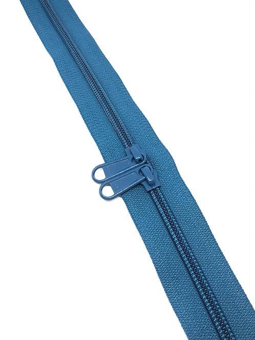 YKK Zipper Tape - Peacock 838