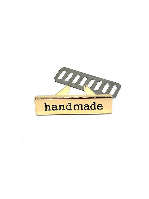 Gold Handmade Bag Label