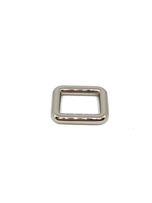 """Silver Rectangle Ring 15mm (5/8"""") x 11mm (3/8"""")"""