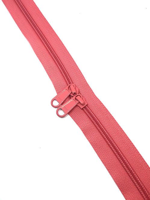 YKK Zipper Tape - Coral 338