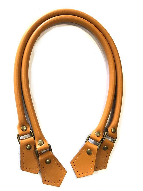 Leather Handles - Caramel
