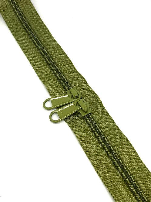 YKK Zipper Tape - Khaki 247