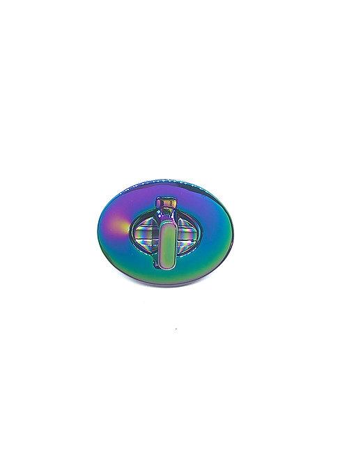 Oval Turn Lock 35mm x 28mm