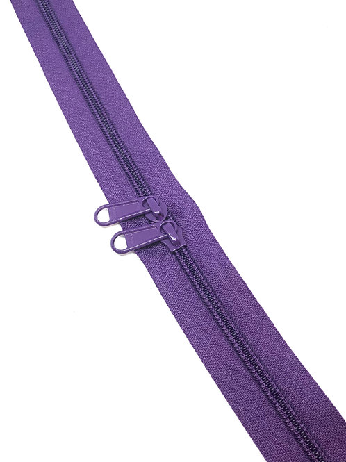 YKK Zipper Tape - Violet