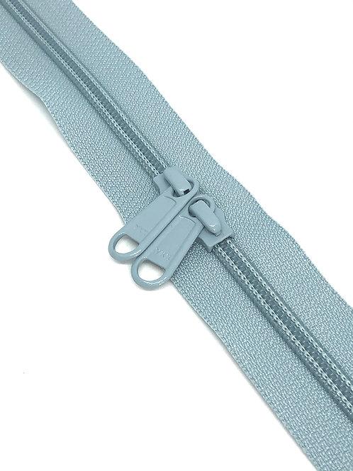 YKK Zipper Tape - Powder Blue 232