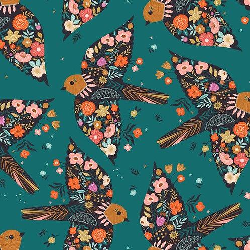 Teal Birds - Dashwood Studio (GOOD1853)