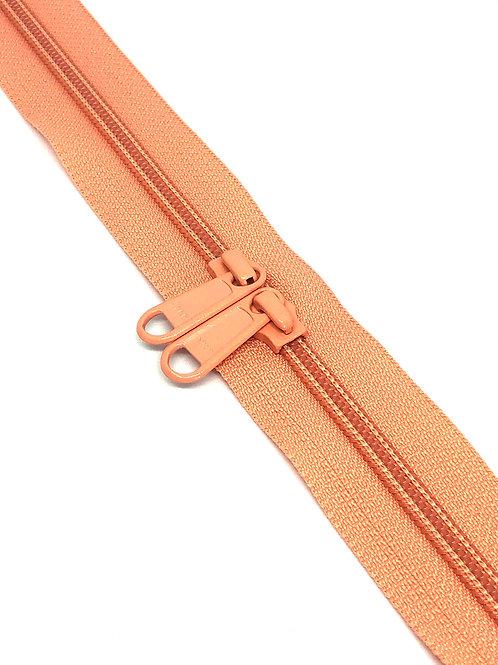 YKK Zipper Tape - Peach Melba 057