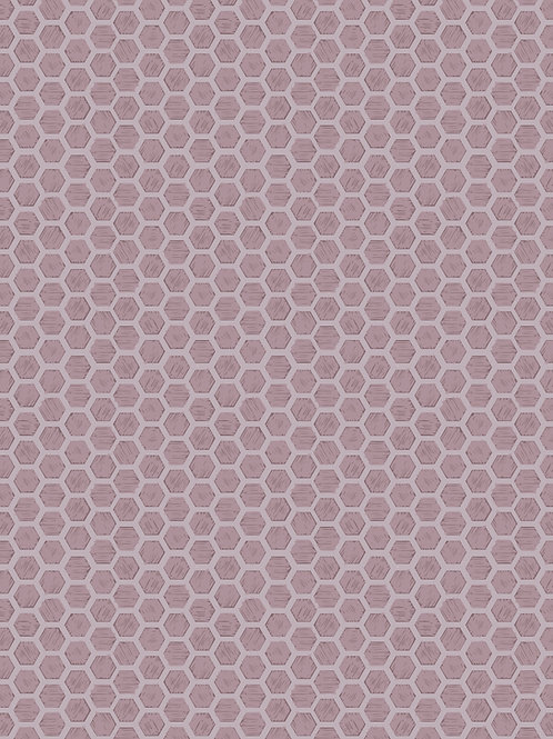Honeycomb on Mid Lilac (A501.3)
