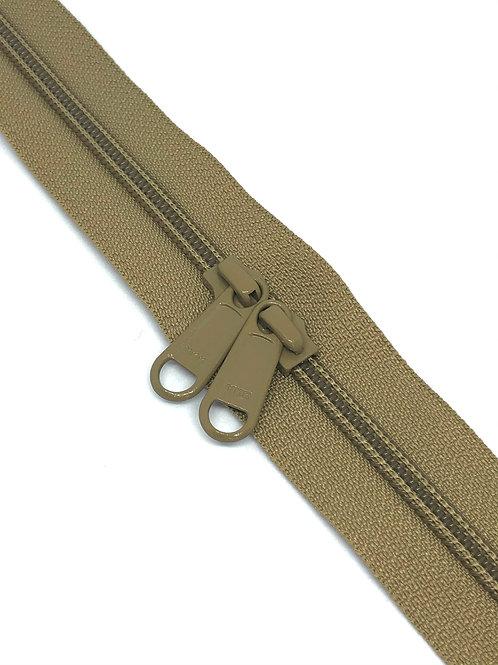 YKK Zipper Tape - Walnut 896