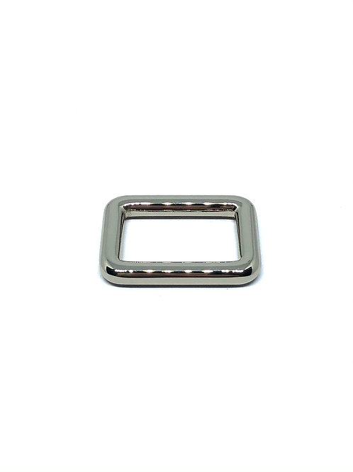 "Silver Rectangle Ring 25mm (1"") x 15mm (5/8"")"