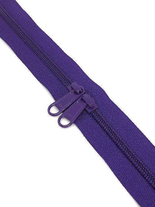 YKK Zipper Tape - Purple 029