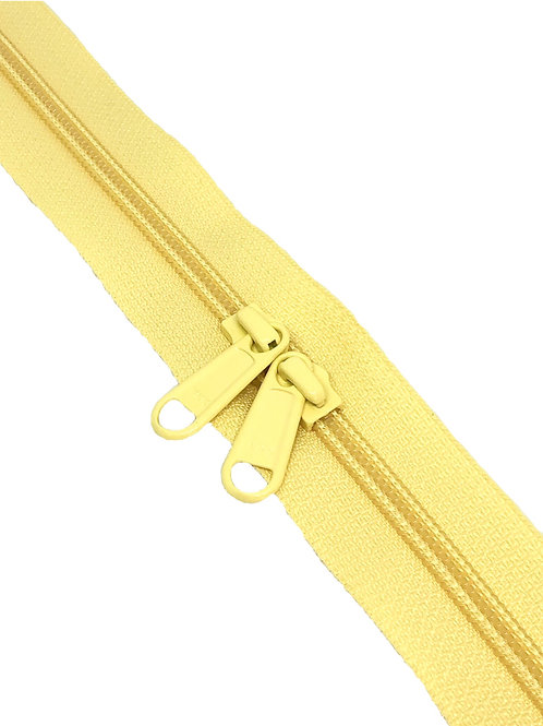 YKK Zipper Tape - Sherbet Lemon 089